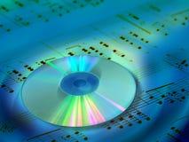 bakgrundsmusik Fotografering för Bildbyråer