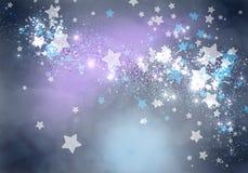 bakgrundsnedladdning som tecknar den klara stjärnavektorn royaltyfria bilder