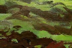 bakgrundsoljemålarfärg Arkivbild
