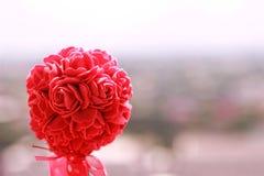 bakgrundspinken steg Royaltyfri Fotografi