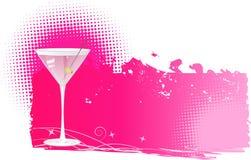 bakgrundsraster martini Royaltyfri Foto