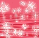 bakgrundsreflexionssparkle Arkivbild