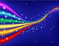 bakgrundsregnbåge vektor illustrationer