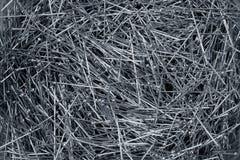 bakgrundssömmerska stål för många stift Royaltyfri Fotografi