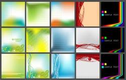 bakgrundssamlingsvektor Stock Illustrationer
