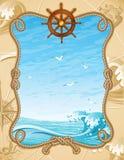 bakgrundssegling royaltyfri illustrationer
