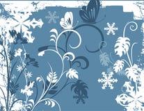 bakgrundsserievinter royaltyfri illustrationer
