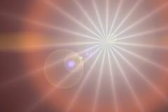 bakgrundssignalljuslins royaltyfri illustrationer