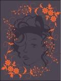 bakgrundsskönhetkvinnor Royaltyfri Bild