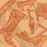 bakgrundsskor stock illustrationer