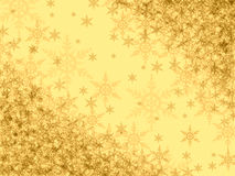 bakgrundssnowflakes Royaltyfria Bilder