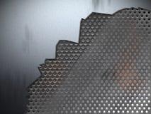 bakgrundssprickametall stock illustrationer