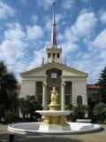 bakgrundsspringbrunnseaport Royaltyfri Bild