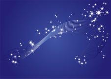 bakgrundsstjärnor Royaltyfri Fotografi