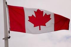 BakgrundssymbolKanada flagga Royaltyfri Bild