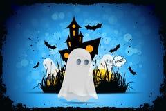 bakgrundstecken halloween som isoleras över affischen Arkivbild