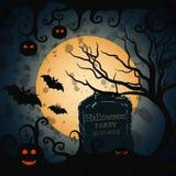 bakgrundstecken halloween som isoleras över affischen Royaltyfria Bilder