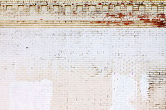 bakgrundstegelsten räknade grungetexturväggen Arkivbilder