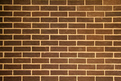 bakgrundstegelstenbrown Arkivfoto