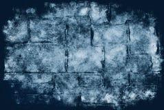 bakgrundstegelstengrunge Arkivbilder