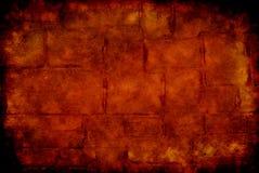 bakgrundstegelstengrunge Arkivbild