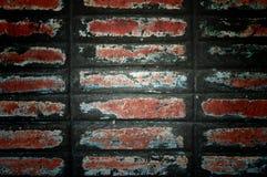 bakgrundstegelstenvägg Fotografering för Bildbyråer