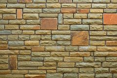 bakgrundstegelstenvägg Royaltyfria Bilder