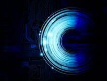bakgrundsteknologi Arkivbild