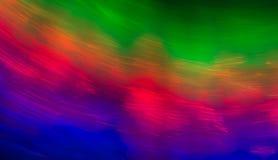 Bakgrundstextur av det färgrika trästaketet Royaltyfri Bild