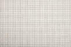 Bakgrundstextur av för plast-dubblett för vit gnäggande flätad rad Royaltyfri Bild