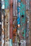 Bakgrundstextur av gamla wood plankor Arkivbilder