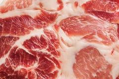 Bakgrundstextur av marmorerat kött Arkivfoton
