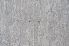 Bakgrundstextur av två parallella grå färgbräden Fotografering för Bildbyråer