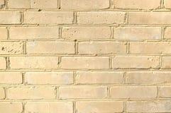 Bakgrundstextur av vit tegelsten arkivfoto