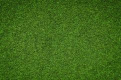 Bakgrundstextur för grönt gräs, konstgjort gräsfält Royaltyfri Fotografi