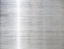 Bakgrundstexturen av rostfritt stål Royaltyfri Fotografi