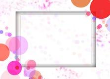 bakgrundstexturram Royaltyfria Bilder