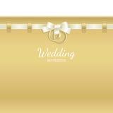 bakgrundstitelradbröllop Royaltyfri Bild