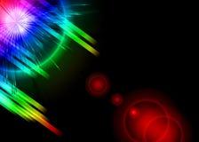 bakgrundstryckvågavstånd vektor illustrationer