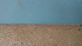 Bakgrundsvägg med blått- och bruntfärger royaltyfri fotografi