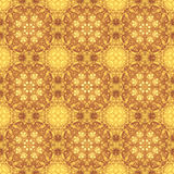 Bakgrundsvägg-papper, fractalmodell, yellowy-brunt Royaltyfri Fotografi