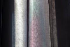 Bakgrundsväggyttersida med svarta band Royaltyfri Foto