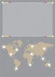 bakgrundsvärld stock illustrationer