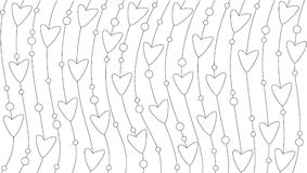 bakgrundsvalentin vektor illustrationer