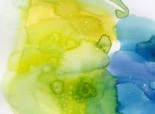 bakgrundsvattenfärg Arkivbild
