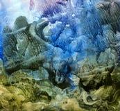 bakgrundsvattenfärg Royaltyfri Bild