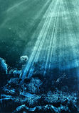 bakgrundsvattenfärg Arkivbilder
