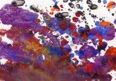 bakgrundsvattenfärg Fotografering för Bildbyråer