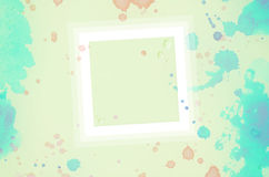 Bakgrundsvattenfärgfärgstänk Royaltyfri Bild