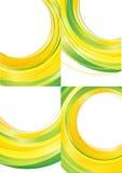 Bakgrundsvektor för gul gräsplan royaltyfri illustrationer